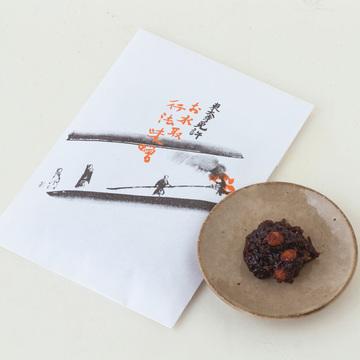 二月堂お水取りの籠りの僧が行力を促す秘伝の味噌 龍美堂の「行法味噌」