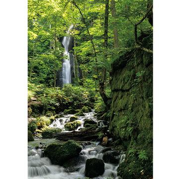 2.清らかな渓流を眺めながらディナー前のアペロを楽しむ