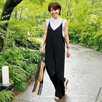 """【""""オールインワン""""が活躍するワンマイルコーデ3選】エクラ華組のおしゃれSNAP"""