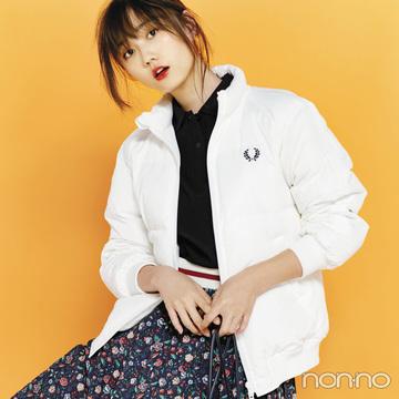 フレッドペリーのポロシャツ&ショートダウンコーデがイン★【2018秋冬コート】