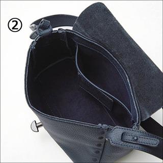 ザネラートの小さめポストマンバッグ