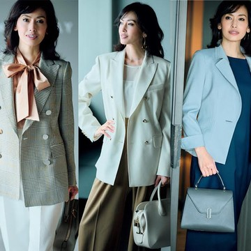 【50代女性管理職ファッション】一目置かれる春の「ほめられジャケット」顔映え&しゃれ見えが仕事に効く!