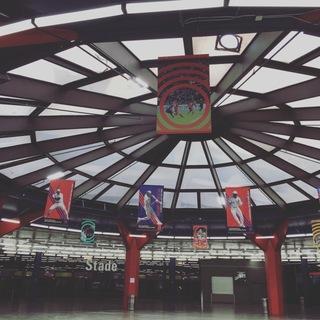 モントリオールオリンピックスタジアムへ。