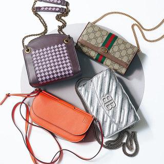新しいお財布で幸運を呼び込みたい! とにかくコンパクトにまとめたい人には「お財布バッグ」が便利