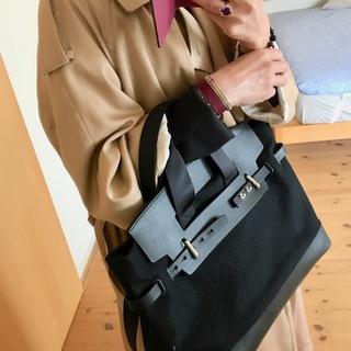 刺し子織のモードなバッグ♡_1_2