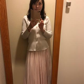 桜色のスカートで淡コーデ_1_2