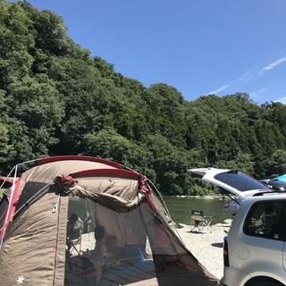 自然を満喫!BBQに川遊び・・・デイキャンプデビュー♡