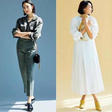 「マニッシュ系」or「フェミニン系」あなたはどちらの甲深靴を選ぶ?