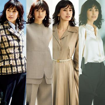 【50代管理職女性ファッション】ビジネスシーンで一目置かれる「ベージュコーデ」まとめ