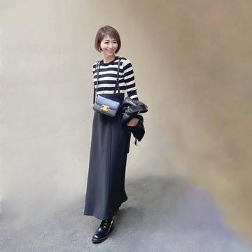 ハンサムロングスカート 〜ブラック編〜