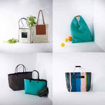 【おすすめマーケットバッグ4選】大人が持ちたい! ブランドの絵になる「しゃれ見えマーケットバッグ」