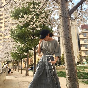 春がきた♡桜のコーデ