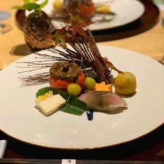 ウェスティンホテル東京「舞」で秋を感じるディナー