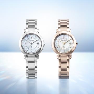 ダイヤモンドが輝く「シチズン クロスシー」の限定モデルが登場★ 期間限定の刻印サービスも!