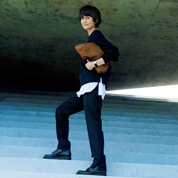 アップデートした「きれいめパンツ」で今らしい着こなしに【富岡佳子のトレンドパンツコーデ】