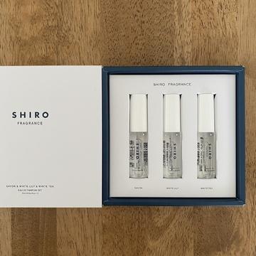 SHIROで香りのレイヤードを楽しむ