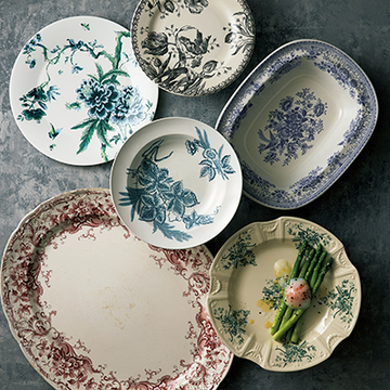 「柄皿」と「ひらひら皿」で、おもてなし料理がドラマチックに、華やかに!