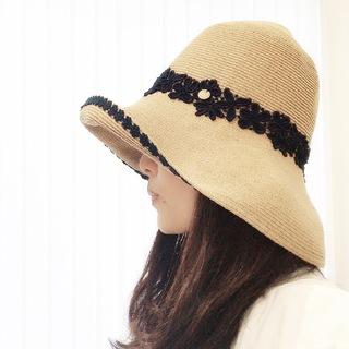 この夏、この帽子で焼けない上に美人度アップ!