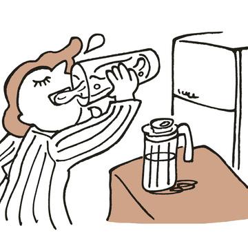 Q5.睡眠中、血液がドロドロにならないよう、夜寝る前に水をたっぷり飲むことを習慣にしているんですが……