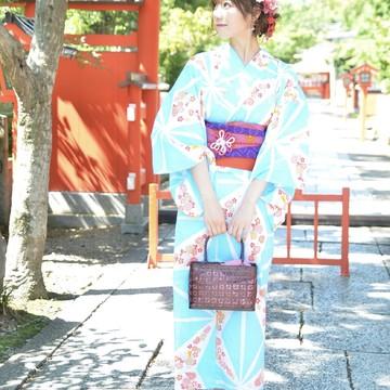 浴衣で京都ぶらり