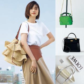 【40代が持つべき名品バッグ】カジュアルコーデに大人の品格を与えるラグジュアリーブランドのバッグの魅力|アラフォーファッション