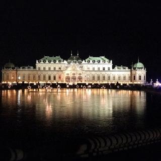 ベルベデーレ宮殿のクリスマス