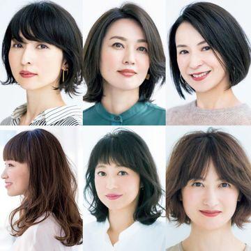 ツヤ・ボリューム・アレンジ映え「ボブ」スタイルをチェック!【50代髪型人気ランキングTOP10】