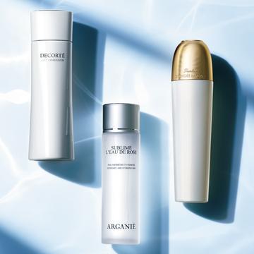 肌が覚醒する!今こそ投資すべき「高機能化粧水」3選【夏こそ化粧水】