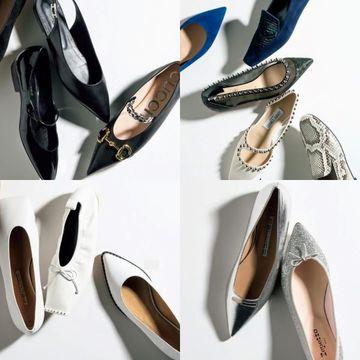 春の装いを格上げする旬の「フラット靴」20選