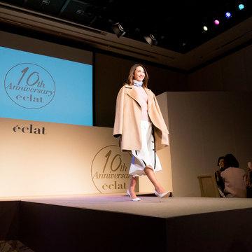 エクラモデルによる、あの人気ブランドのショーを目の前で! ファッションフロアショー
