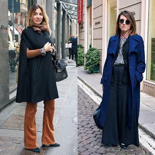 細見えフレア&モード顔ワイドがパンツの2大勢力!【ファッションSNAP パリ・ミラノ編】