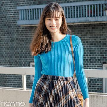 新川優愛が2019年にしたいおしゃれ&ヘアスタイルを発表!