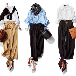 「ヒール靴選びの正解」から「女っぷりタックパンツコーデ」まで【人気記事ランキングトップ5】