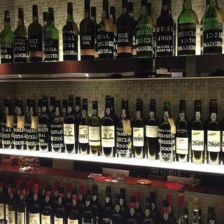 銀座で飲むならマデイラワイン