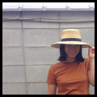 大人のカンカン帽「janessa leone」