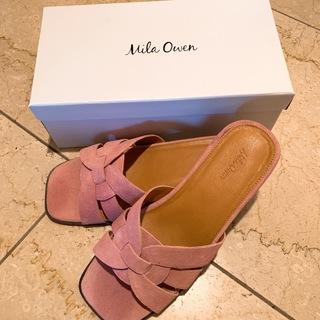 この夏のお出かけ用にのチョイスの靴はMilaOwen(ミラ オーウェン)のミュールサンダル