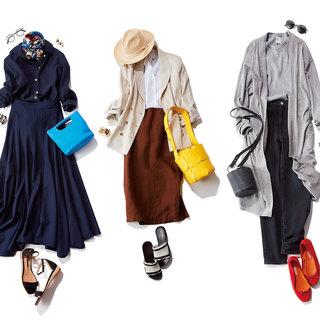 ふんわりスカートのワン・ツーコーデから小物のキレイ色ルールまで【人気記事ランキングトップ5】