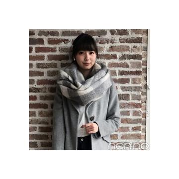 新川優愛はコートを着ても「上にボリューム」で着ぶくれせずにスタイルUP!【毎日コーデ】