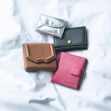 5. 機能性とデザインを考え抜かれた、おすすめ最旬ミニ財布
