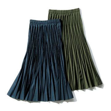 冬の心強いアイテム、マキシスカートで着こなしに華やぎを!
