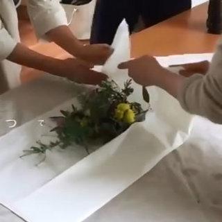 簡単でオシャレな花束の作り方