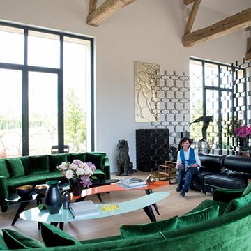 古きよきものとモダンな美 エリック・ショーバンさんの人生最高に「好き」な家
