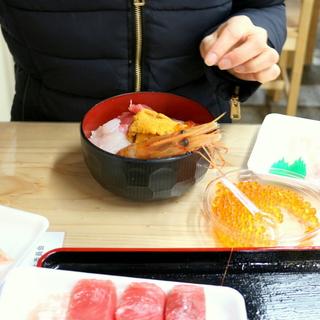 大好きな街、仙台へ①~塩釜仲卸市場でのっけ盛りっ!MY海鮮丼~_1_2-3