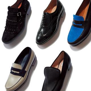 スマートさはそのままに、アッパーやソールに個性が光る「マニッシュ靴」