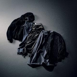"""今年の気分を""""スミクロ""""に託して「まろやかな黒」でかなえるニュアンスブラックstyles"""