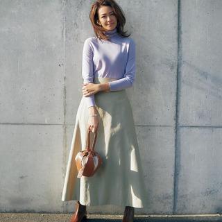 アラフォーならではの上品さ、女らしさが手に入る!ベージュファッションコーデ実例|ベージュパンツやベージュスカート、ブラウスなど