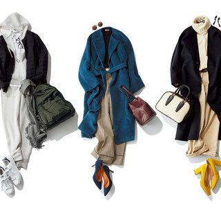ベーシックカジュアル派スタイリスト福田真琴さんの3枚のコート