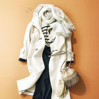色は軽やかな「白~淡カラー」が新鮮!【おしゃれプロのコートKeepリスト】