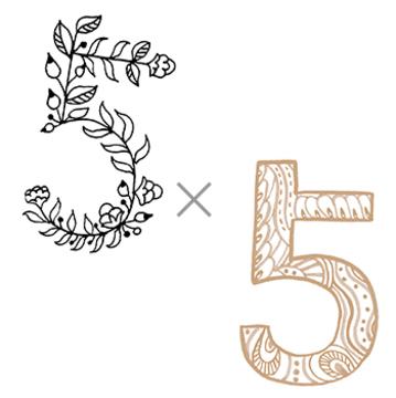 5×5 (自由を満喫する年)