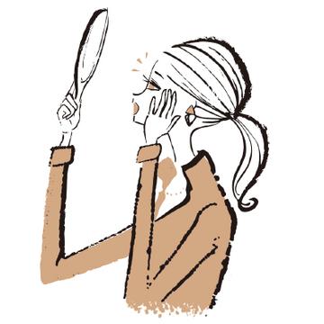 """<""""眼瞼下垂""""の原因>加齢とともにまぶたが落ちてくるのはなぜ?"""